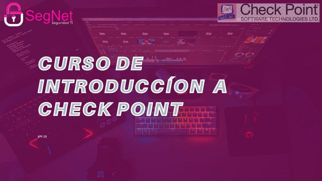Introduccion a check point